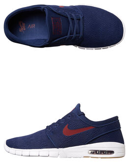BLUE RED MENS FOOTWEAR NIKE SKATE SHOES - SS631303-469M