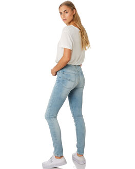 TONAL BLEACH WOMENS CLOTHING NUDIE JEANS CO JEANS - 113023TONAL
