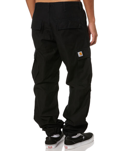 BLACK MENS CLOTHING CARHARTT PANTS - I02650289
