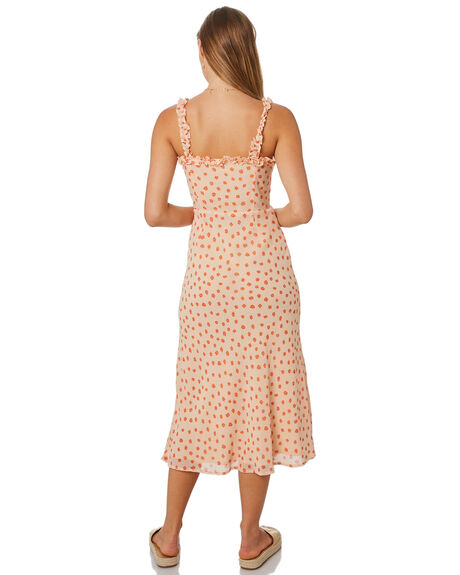 PRINT WOMENS CLOTHING LULU AND ROSE DRESSES - LU23830PRNT
