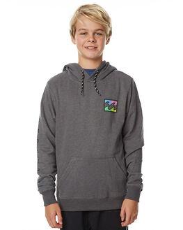 DARK GREY HEATHER KIDS BOYS BILLABONG JUMPERS - 8575614GRY