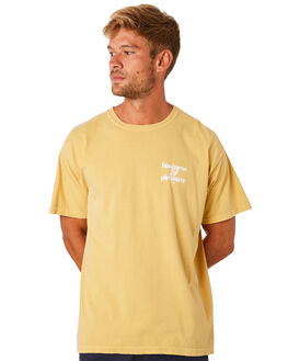 VINTAGE YELLOW MENS CLOTHING BUSINESS AND PLEASURE CO TEES - BPS-BPC-VTG-YEL