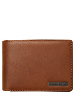 BROWN MENS ACCESSORIES RUSTY WALLETS - WAM0521TAN