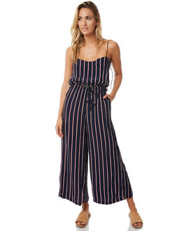 NAVY STRIPE WOMENS CLOTHING RUE STIIC PLAYSUITS + OVERALLS - S118-74NVYST