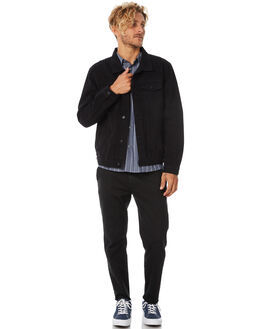 BLACK MENS CLOTHING SWELL JACKETS - S5184385BLACK