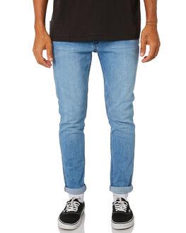 ECHOES BLUE MENS CLOTHING WRANGLER JEANS - W-901545-LB0ECOBL