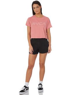 MELON WOMENS CLOTHING RVCA TEES - R271685MEL