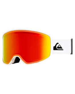 SNOW WHITE BOARDSPORTS SNOW QUIKSILVER GOGGLES - EQYTG03091-WBK0