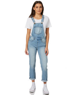 VINTAGE BLUE WOMENS CLOTHING BILLABONG PLAYSUITS + OVERALLS - 6586431V11