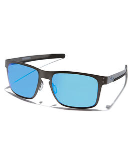 GUNMETAL PRIZM BLUE MENS ACCESSORIES OAKLEY SUNGLASSES - 41230755