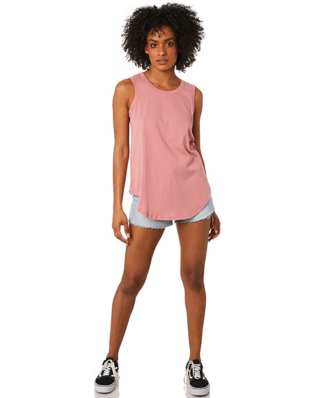 PUNCH WOMENS CLOTHING BETTY BASICS SINGLETS - BB266SP20PUNCH