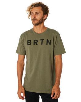 DUSTY OLIVE MENS CLOTHING BURTON TEES - 203751300