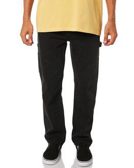 FADED BLACK MENS CLOTHING THRILLS JEANS - TDP-421FBFBLK