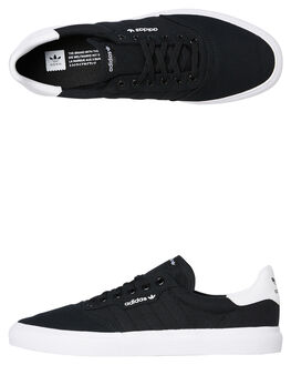 BLACK WHITE MENS FOOTWEAR ADIDAS SNEAKERS - SSB22706BLKM