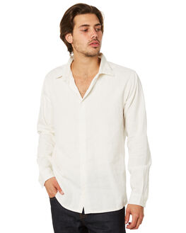 WHITE MENS CLOTHING AFENDS SHIRTS - M191253WHT