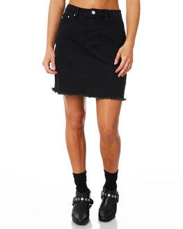 PHANTOM WOMENS CLOTHING RES DENIM SKIRTS - RD-WEN18045PHAN