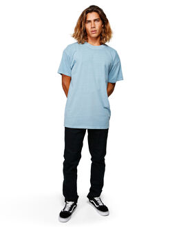 POWDER BLUE MENS CLOTHING BILLABONG TEES - BB-9572051-P22