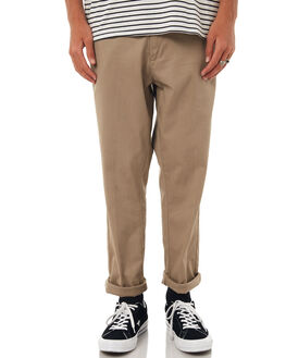 KHAKI MENS CLOTHING DR DENIM PANTS - 1730109-699