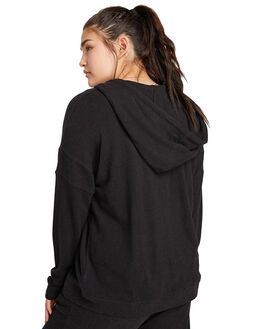 BLACK WOMENS CLOTHING VOLCOM JUMPERS - CB3111802BLK