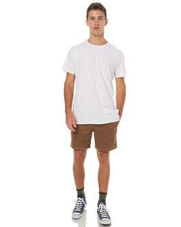 TAN MENS CLOTHING STUSSY SHORTS - ST072621TAN