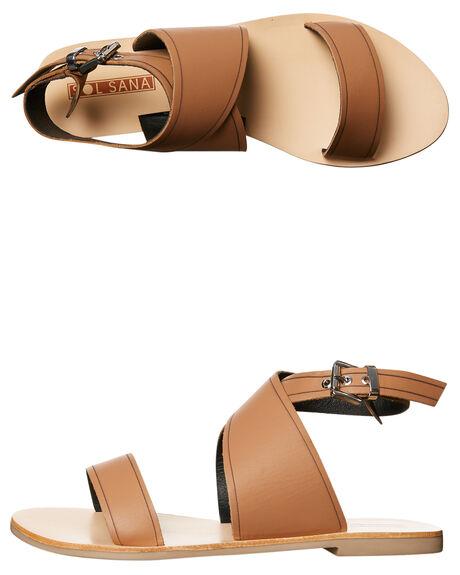TAN WOMENS FOOTWEAR SOL SANA FASHION SANDALS - SS172S396TAN