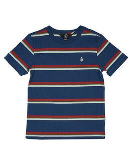 SMOKEY BLUE KIDS BOYS VOLCOM TOPS - Y0141903SMB