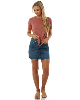 ROSEWOOD WOMENS CLOTHING CAMILLA AND MARC TEES - QCMT6708ROSEW