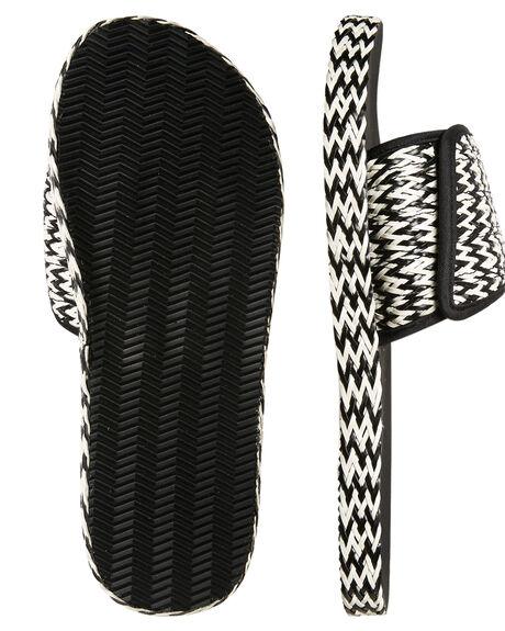 BLACK WOMENS FOOTWEAR BILLABONG SLIDES - 6685802BLK