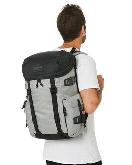 GRAY HEATHER MENS ACCESSORIES BURTON BAGS + BACKPACKS - 13655102020