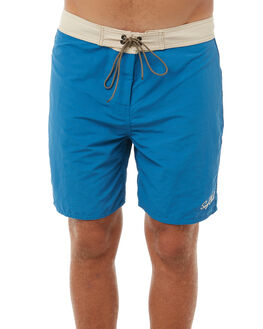 SEA BLUE MENS CLOTHING OAKLAND SURF CLUB BOARDSHORTS - OSC-2TB-BLUSEABL