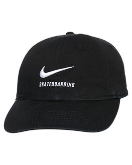 BLACK WHITE MENS ACCESSORIES NIKE HEADWEAR - 828635010