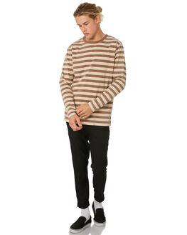 TOBACCO MENS CLOTHING BANKS JUMPERS - WFL0181TOB