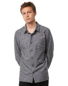 BLACK MENS CLOTHING HURLEY SHIRTS - 894999010