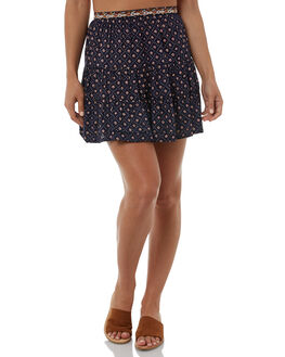 INDIGO WOMENS CLOTHING TIGERLILY SKIRTS - T385276IND