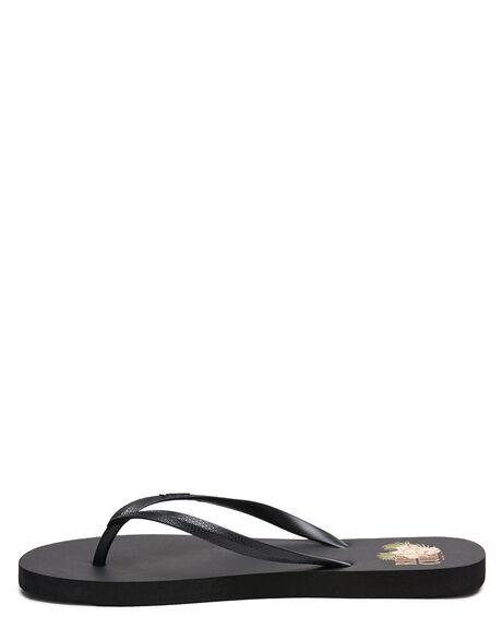 BLACK KIDS GIRLS RIP CURL THONGS - TGTF670090