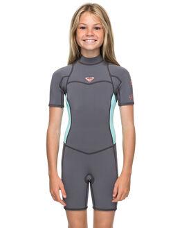 DEEP GREY GLACE BLUE BOARDSPORTS SURF ROXY GIRLS - ERGW503004XGGB