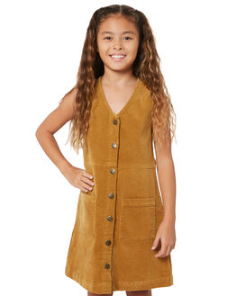 LIGHT CAMEL KIDS GIRLS RUSTY DRESSES + PLAYSUITS - DRG0007LCA