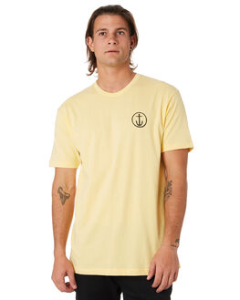 YELLOW MENS CLOTHING CAPTAIN FIN CO. TEES - CT192003YLW