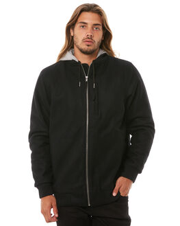 BLACK MENS CLOTHING DEPACTUS JACKETS - D5183381BLACK