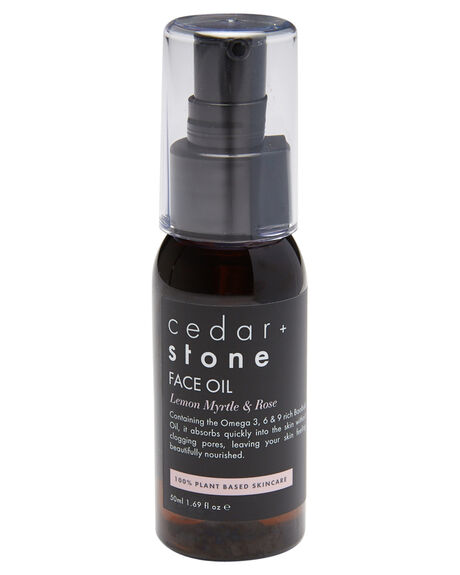 LEMON MYRTLE ROSE WOMENS ACCESSORIES CEDAR AND STONE BODY PRODUCTS - FACEOIL50LEM