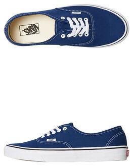 BLUE MENS FOOTWEAR VANS SNEAKERS - SSVNA38EMQ9WBLUM
