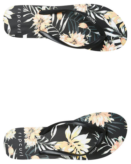 BLACK PALMS WOMENS FOOTWEAR RIP CURL THONGS - TGTF070090