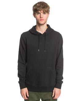 BLACK MENS CLOTHING QUIKSILVER JUMPERS - EQYFT04159-KVJ0