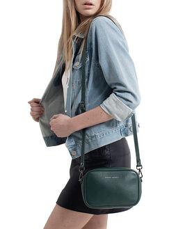GREEN WOMENS ACCESSORIES STATUS ANXIETY BAGS + BACKPACKS - SA7256GRN