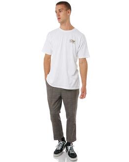 GREY PLAID MENS CLOTHING BRIXTON PANTS - 04081GYPLD