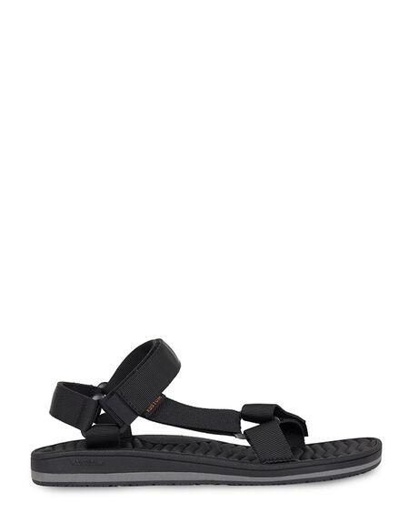BLACK MENS FOOTWEAR KUSTOM THONGS - KS-4993203-BLK