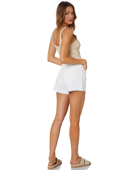 VINTAGE WHITE WOMENS CLOTHING ROLLAS SHORTS - 1367206