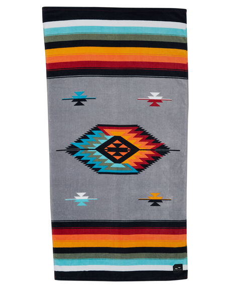 GREY MENS ACCESSORIES SLOWTIDE TOWELS - ST028GRY