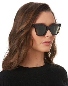 POLISHED TORT WOMENS ACCESSORIES LOCAL SUPPLY SUNGLASSES - RIVIERATLP2