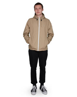 DESERT KHAKI MENS CLOTHING ELEMENT JACKETS - EL-107461-DSK